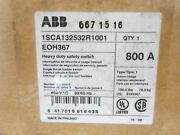 Abbeoh367 Hd Fuse Safety Switch Disconnectn1 600v 800 A 3p - New