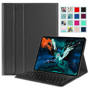 For Ipad Pro 12.9 3rd Gen 2018 Slim Shell Stand Case Cover W/bluetooth Keyboard