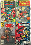 What If.. Fn/vf Lot 19774 Books Conan The Barbarian Marvel Bronze Age