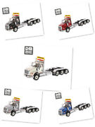 150 Scale Diecast Masters International Hx620 Day Cab Tandem Tractor Model Toys