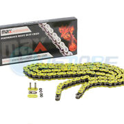 Yellow 520x114 O-ring Drive Chain Fit Atv Motorcycle Mx 520 Pitch 114 Links