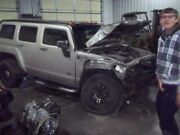 Driver Rear Side Door Without Child Safety Locks Fits 06-07 Hummer H3 862794