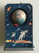 Sputnik Wind-up Space Toy Fairy Tales And Science Ussr Late 1950s Rare