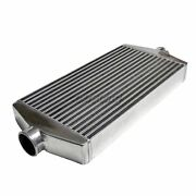 2.5 Center Inlet Outlet Turbo Universal Intercooler For S13 S14 S15 240sx 300zx