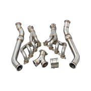 Cxracing High Performance Headers Y Pipe For Rx7 Rx-7 Fc Ls Ls1 Engine