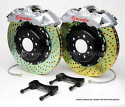 Brembo Gt Bbk 4pot Front For 1997-2003 Bmw 5-series E39 2000-2003 M5 1b1.8010a3