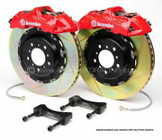 Brembo Gt Bbk 4pot Front For 1997-2003 Bmw 5-series E39 2000-2003 M5 1b2.8010a2