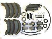 1948 Plymouth P-15 Master Brake Kit Cylinders Hoses Springs Shoes Seals Etc