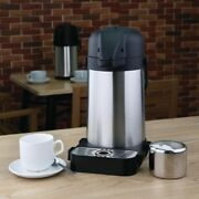 3litre Stainless Steel Air Pot Thermos Insulated Vacuum Flask Jug With Tray 3l