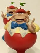 Wdcc Tweedle Dee And Tweedle Dum Riddles And039nand039 Rhymes And Puzzles And039nand039 Poems Nib
