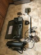 Vietnam Us Army Military Mine Sweeper Metal Detector And Accessories By Bulova