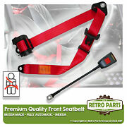 Front Automatic Seat Belt For Jaguar 420g Berlina 1961-1970 Red