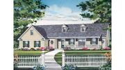House Plan Homepw03307 1480 Square Foot 3 Bedroom 2 Bathroom Country Home