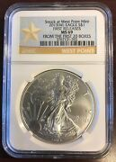2013-w Silver Eagle Ms69 Ngc From 1st 20 Boxes C478