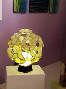 Stained Glass Lighted Sculpture
