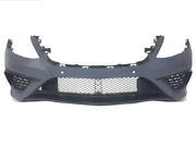 Mercedes Benz S Class W222 13-16 S63 Amg Style Front Bumper W/ Pdc Black Molding