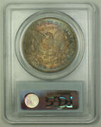 1878-cc Morgan Silver Dollar 1 Coin Pcgs Ms-65 Toned Great Color