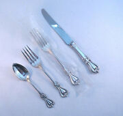 Old Colonial- Towle Sterling 4 Piece Lunch Place Settingfrench Blade