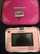 Vtech Innotab 3s Pink Learning Tablet Game System Working, Read Details