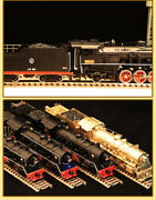 Mtc China Railway Brass Jf Class 2-8-2 Steam Locomotive With Tender Ho Scale