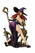 Orchid Seed Dragon's Crown Sorceress 1 7 Scale Pvc Figure 344