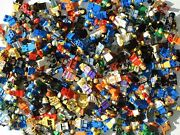Huge Lot Lbs Genuine Lego Minifigures Accessories Weapons And Parts Must See