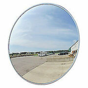 Outdoor Acrylic Convex Security Mirror Traffic Safety Display 26 Usa Made New