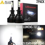 Best Sale 2018 White Led H1 Fog Light Bulb Driving Lamp All-in-one Replacement