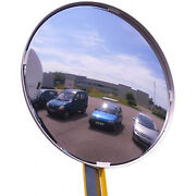 Outdoor Acrylic Convex Security Mirror Traffic Safety 36 Made In The Usa New