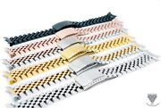 13mm Vintage Jubilee Bracelet For Rolex Ladies Datejust Watches Band + Tools