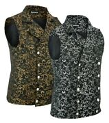 Menand039s Double-breasted Vest Waistcoat Gothic Aristocrat Steampunk Victorian/soa