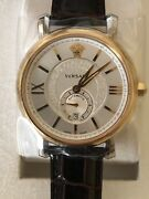 Versace 44 Mm Menand039s Urban Gent Swiss Automatic Limited Edition 62 Of 500