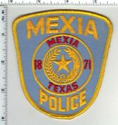 Mexia Police Texas 1st Issue Shoulder Patch