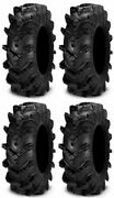 Full Set Of Itp Cryptid 6ply 28x10-14 Atv Tires 4