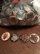 4 Sets Of Sailor Jerry Rum 2016 Promo 1 Pins / Badges / Buttons - Lot Of 168