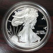 2007-w American Proof Silver Eagle - West Point Minted - High Grade Ultra Cameo