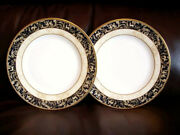 2 Plates Wedgwood Cornucopia Accent 8 20cm New G2 But Good As G1 Best Quality
