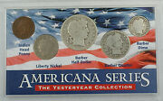 Americana Series Yesteryear Collection Silver Barber Half Dollar Quarter And Dime