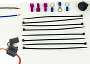 Automotive Marine Wire Electrical Connection Kit - Wire Switch Fuse And Connectors