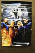 Fantastic Four Rise Of The Silver Surfer 2007 Film Poster 13.5 X 20