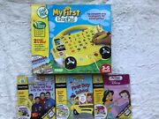 Leap Frog My First Leap Pad Learning System And 3 Cartridges 1 New Orig. Pkging