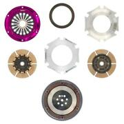 Exedy For Mitsubishi 4g63 Evo 4 5 6 7 8 9 Stage 4 Twin Plate Clutch Mm022hd