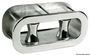 Osculati Marine Boat Stainless Steel Oval Roller Hole For Anchor Chain