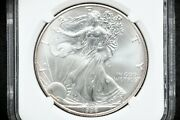 1996 Silver American Eagle Ngc Ms-69