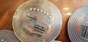 1956 Cadillac Hubcap Wheel Cover Centers Medallions 56 - Set Of 4 - Standard