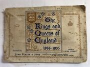 1935 Players Tobacco Co. Complete Book Kings And Queens England Tobacco Cards