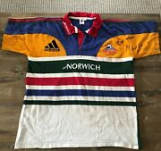 Match Worn And Signed 1st Stormers Rugby Kit - Toks Van Der Linde - Authentic