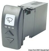 Osculati Switch For 2 Windshield Wipers 15 A
