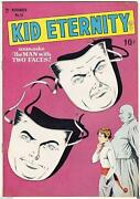 Golden Age Kid Eternity 18 Quality Comics Group 8.5 Vf+
