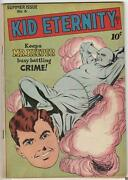 Golden Age Kid Eternity 6 Quality Comics Group 8.0 Vf